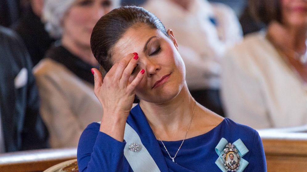 Foto: La princesa Victoria de Suecia en una imagen de archivo. (Gtres)