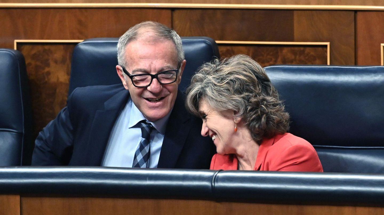 Los ministros de Cultura y Sanidad en funciones, José Guirao y Luisa Carcedo, el pasado septiembre. (EFE)