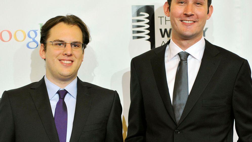 Foto: Mike Krieger y Kevin Systrom fundadores de Instagram (Reuters)