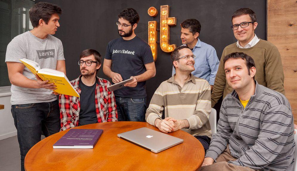 Foto: Parte del equipo de ingeniería de Jobandtalent, varios de ellos despedidos esta semana. (Foto: Jobandtalent)