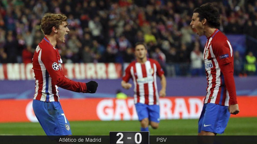 La versión más clásica del Atlético: tedio y Griezmann para volver a ganar