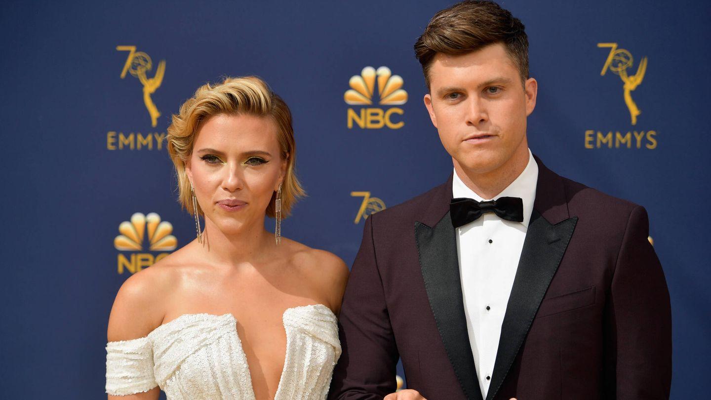 El matrimonio, en los Emmy de 2018. (Getty)