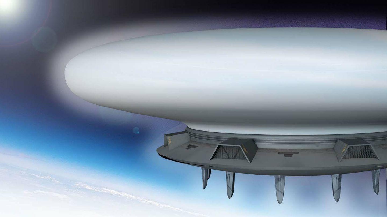La base para drones estará suspendida en la alta estratosfera. (Royal Navy)