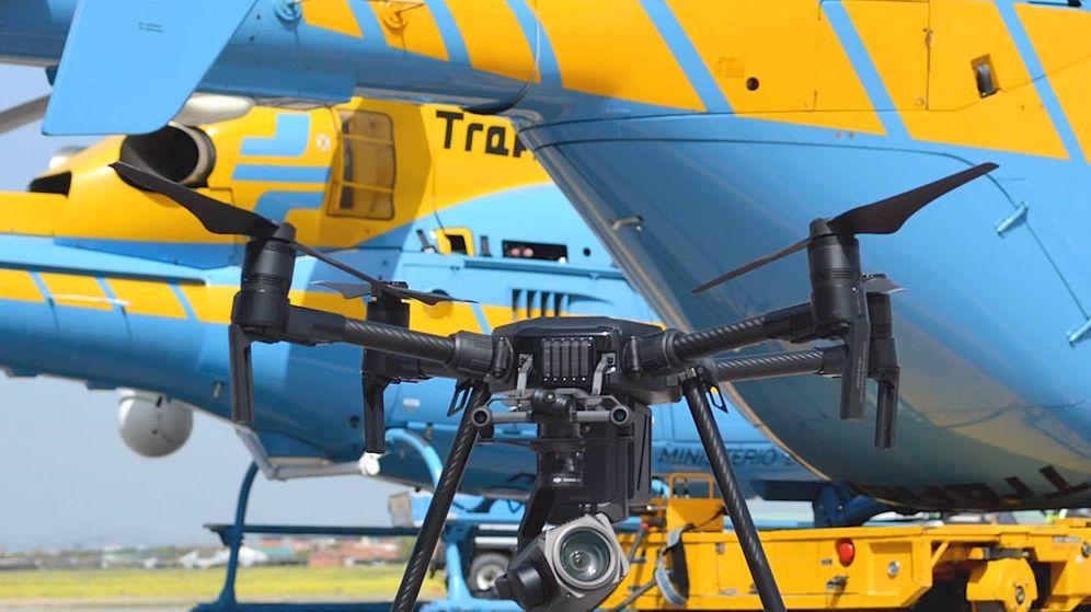 Foto: Los nuevos drones ya se han sumado al equipo de la Dirección General de Tráfico.