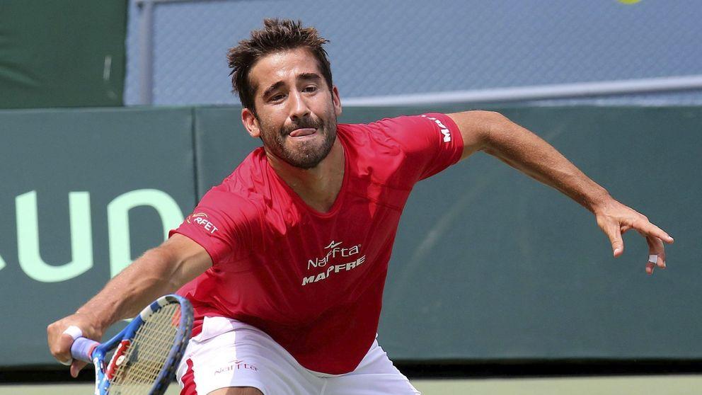 Marc López: Yo nunca hubiese imaginado que jugaría un Masters
