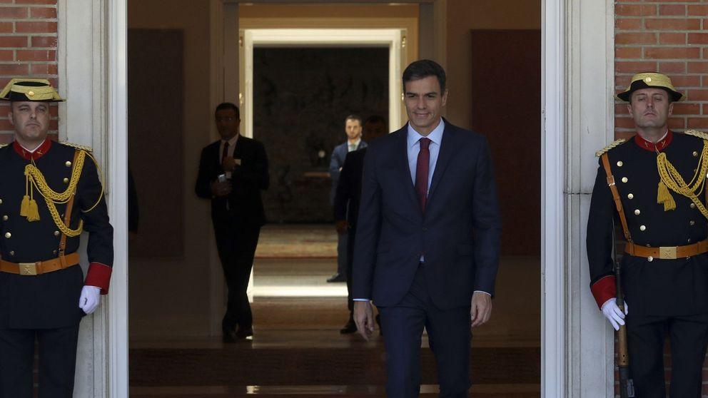Sánchez redobla esfuerzos para salvar el doble envite de RTVE y déficit