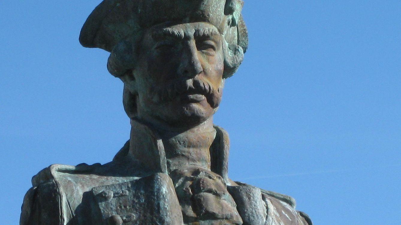 Foto: Estatua de Gaspar de Portolá en Monterrey.