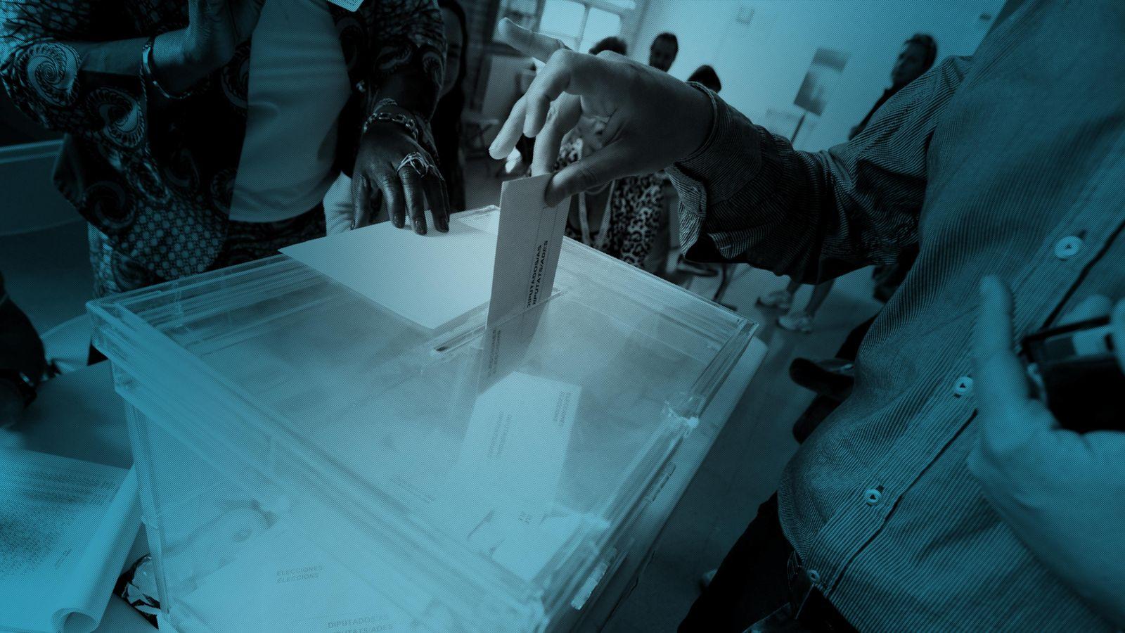 Foto: Así hemos contado las elecciones autonómicas en Andalucía