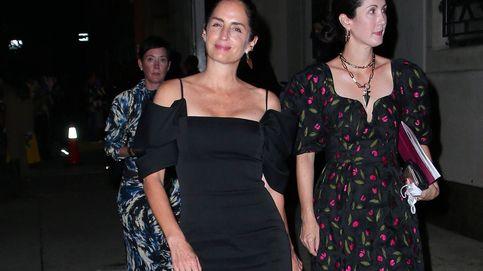 De sus hijas a Lauren Santo Domingo, la aristocracia de New York viste de negro en Carolina Herrera