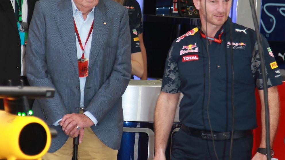 Juan Carlos vuelve a abandonar España y  disfruta de la Fórmula 1 en Baréin