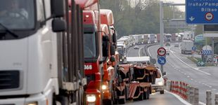 Post de El peaje 'unilateral' a camiones en Guipúzcoa incendia el transporte de mercancías