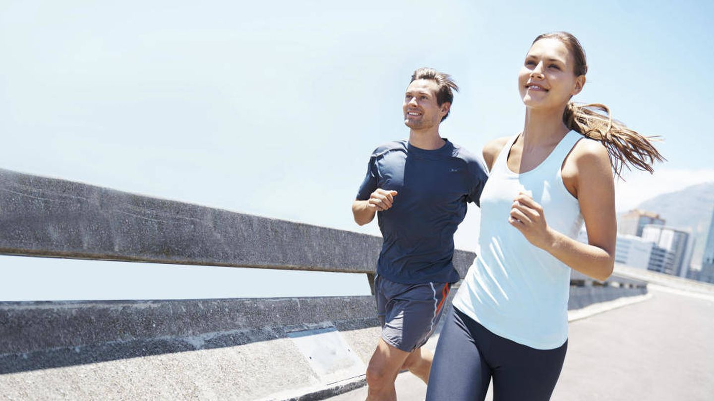 El 'running' nos hace sentir más alegres y menos estresados (iStock)