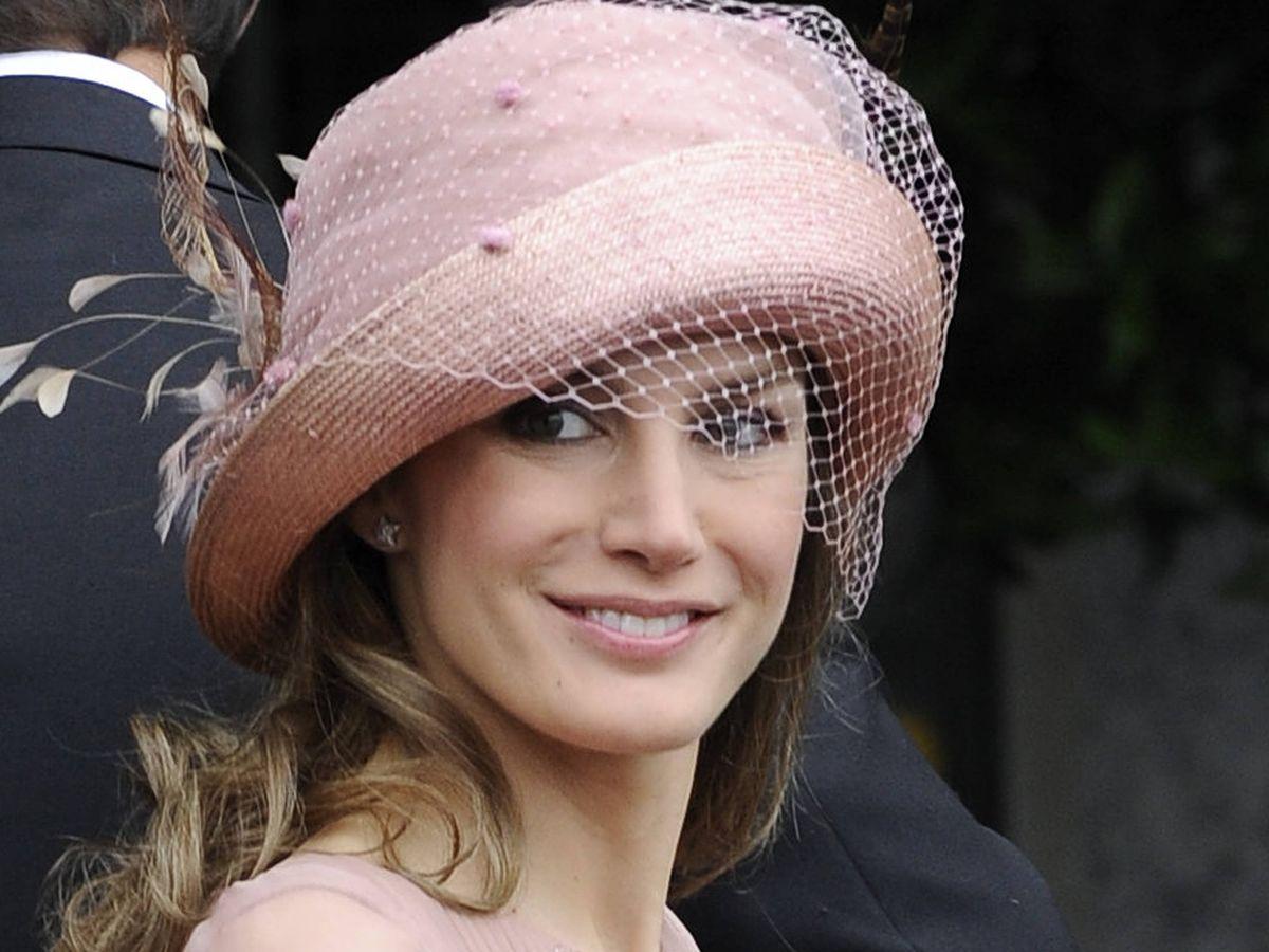 Foto: Letizia Ortiz, en la boda de Guillermo y Kate Middleton.