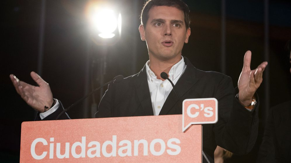 Foto: El Presidente de Ciudadanos, Albert Rivera. (EFE)