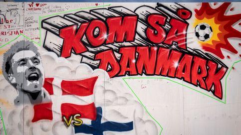Mural en apoyo a Christian Eriksen