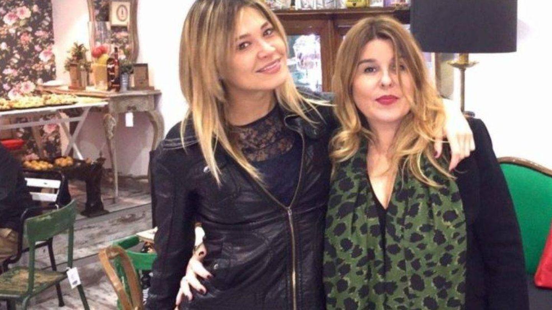 Carla Pereyra junto a Mónica Gil Manzano. (Instagram)