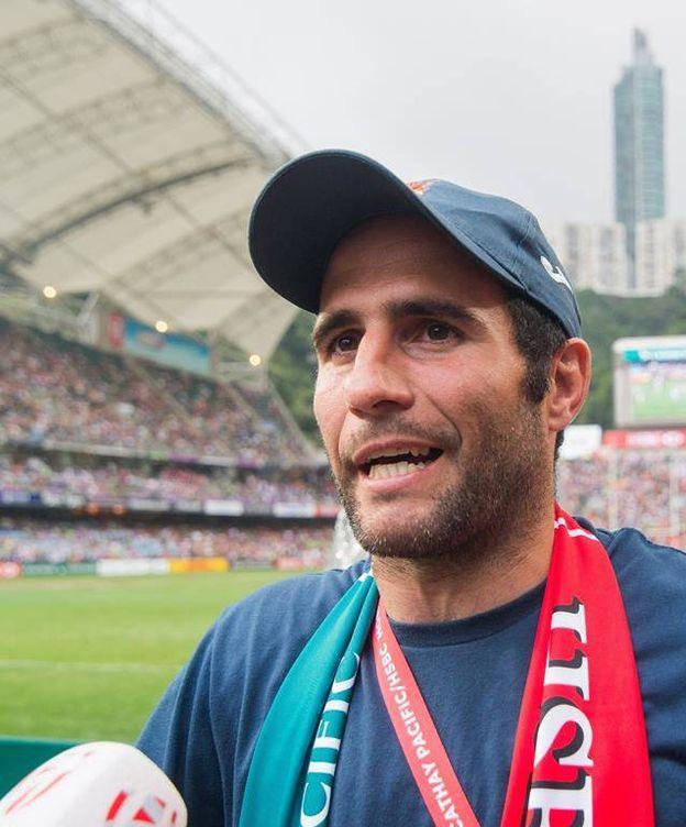 Foto: Pablo Feijoo, seleccionador español de rugby 7 (Ferugby)