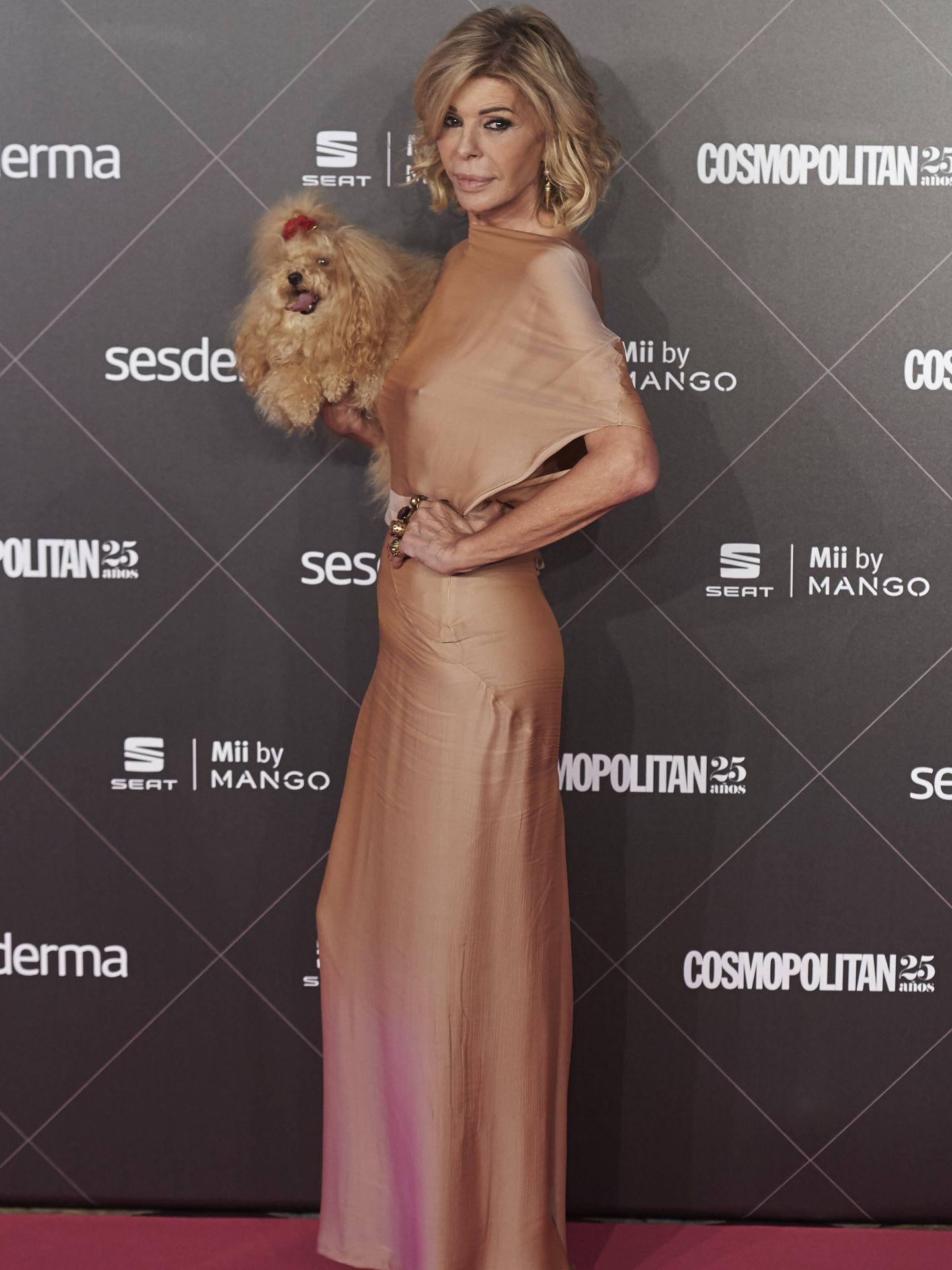 Bibiana Fernández, en una entrega de premios. (Getty)