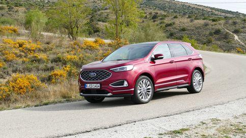 El Edge completa la gama todocamino de Ford