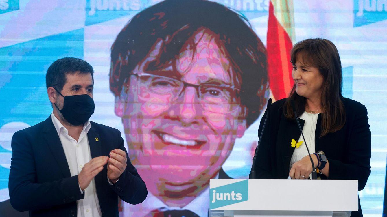 Ruido de sables en Junts: Sànchez y Borràs pugnan por el control del partido