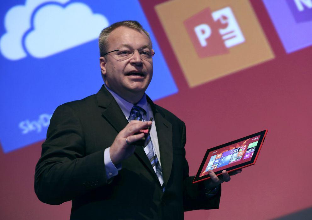 Foto: El CEO de Nokia, Stephen Elop (Reuters)