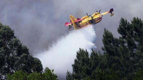 Se estrella en Portugal un avión cuando combatía el fuego