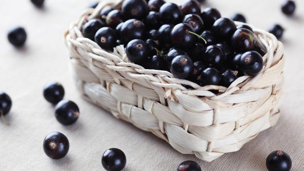 Foto: Ricas grosellas negras. (iStock)