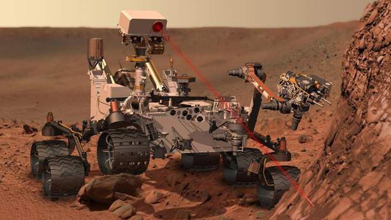 El 'Curiosity', en Marte. (Reuters)
