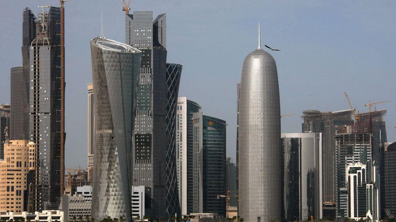 Vista del perfil de Doha. (EFE)