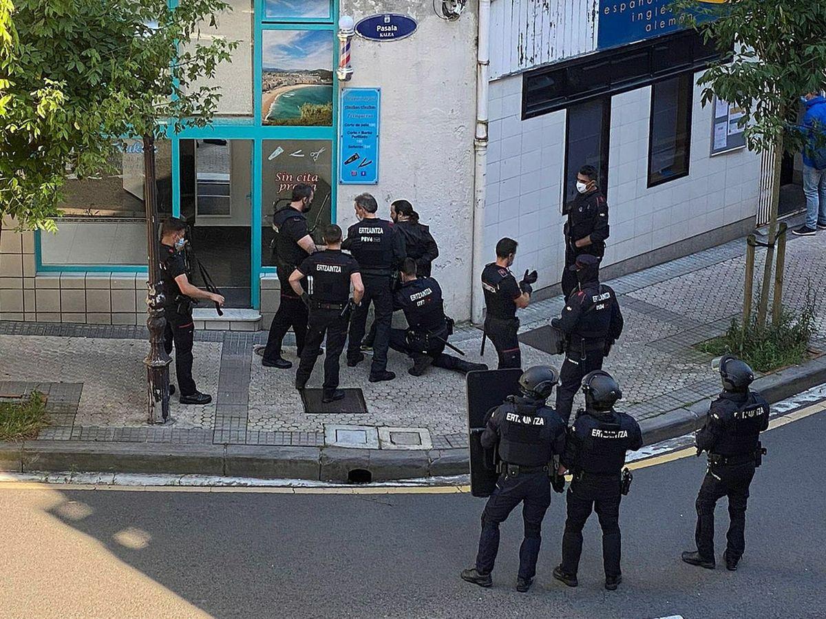 Foto: Momento de la detención. (EFE)