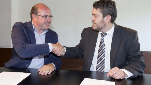 C's apoyará al PP para la investidura de Pedro Antonio Sánchez en Murcia