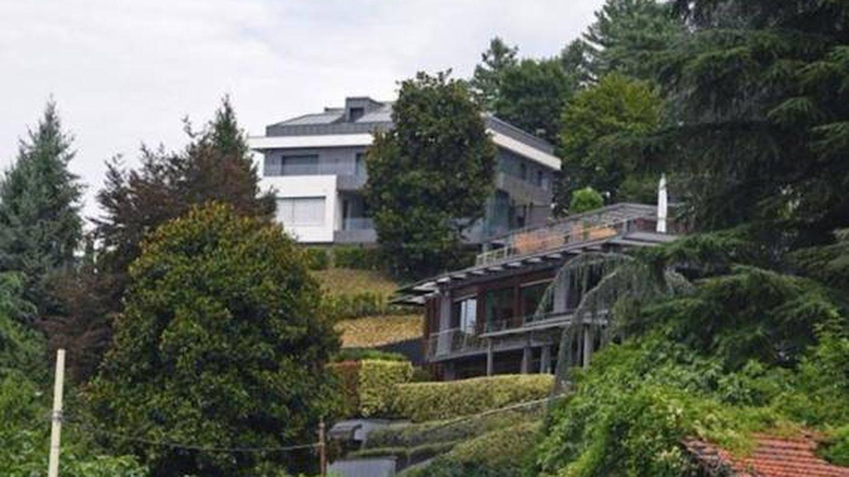 La mansión de Cristiano Ronaldo, de frente. (Twitter @ADP1113)