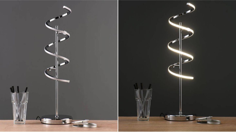 Lámparas perfectas para tu rincón de trabajo, como esta de Leroy Merlin. (Cortesía)