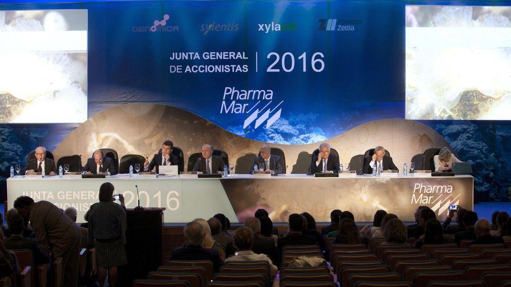 Foto: Junta general de accionistas del grupo pharmamar (EFE)
