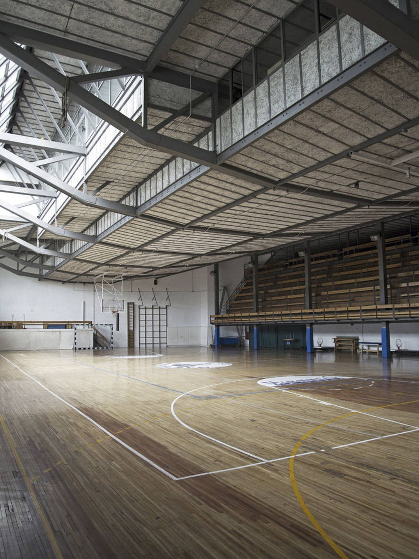 El gimnasio Maravillas. (Foto: COAM)