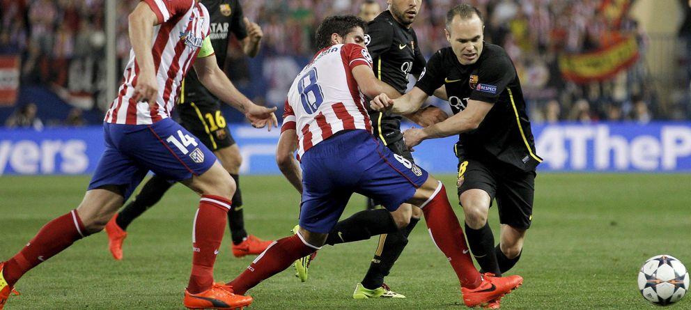 Foto: El sexto duelo del curso entre Barcelona y Atlético de Madrid decidirá la Liga. (Efe)