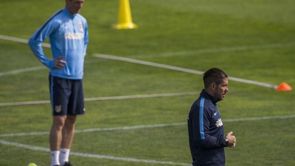 Ni con Mandzukic lesionado  Torres tiene sitio con Simeone