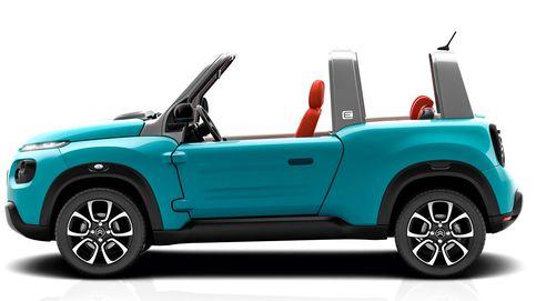 El Méhari de Citroën se hace eléctrico