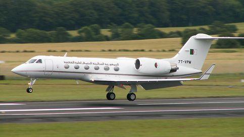 Un avión del Gobierno de Argelia salió esta mañana hacia Logroño para recoger a Ghali