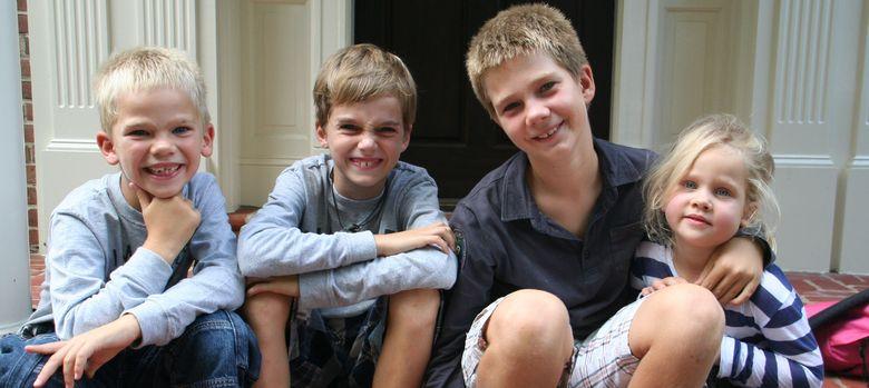Foto: Los hijos de los duques de Palma, en una imagen de archivo (I.C.)