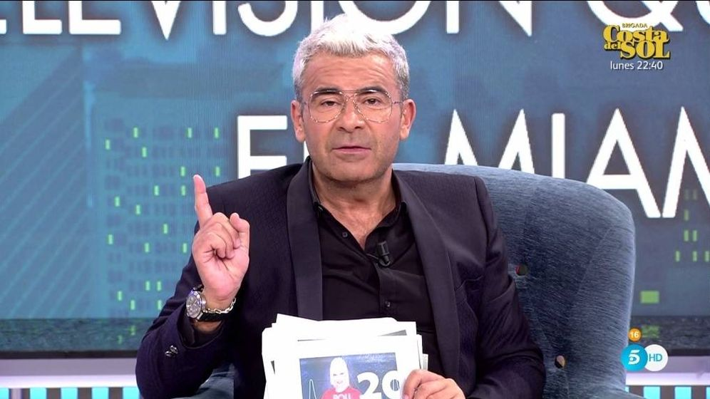 Foto: Jorge Javier Vázquez, en 'Sábado Deluxe'. (Telecinco).