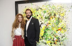 Blanca Cuesta vende ocho cuadros por más de 25.000€ en una noche