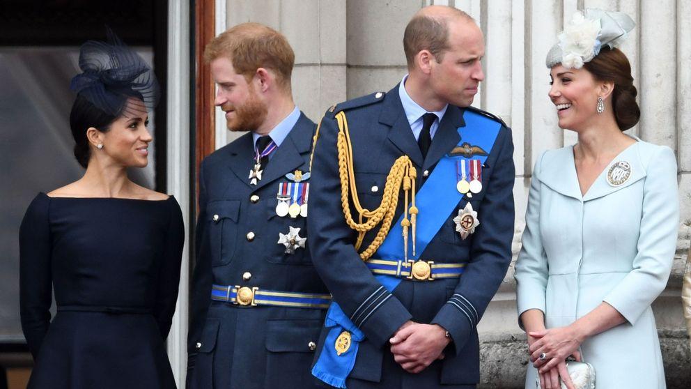El príncipe Guillermo, acusado de bullying a Harry y Meghan (y su respuesta)
