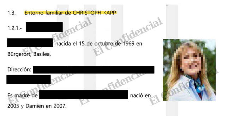 Informes del proyecto Wind incluían datos sobre familiares de Christoph Beat Kap