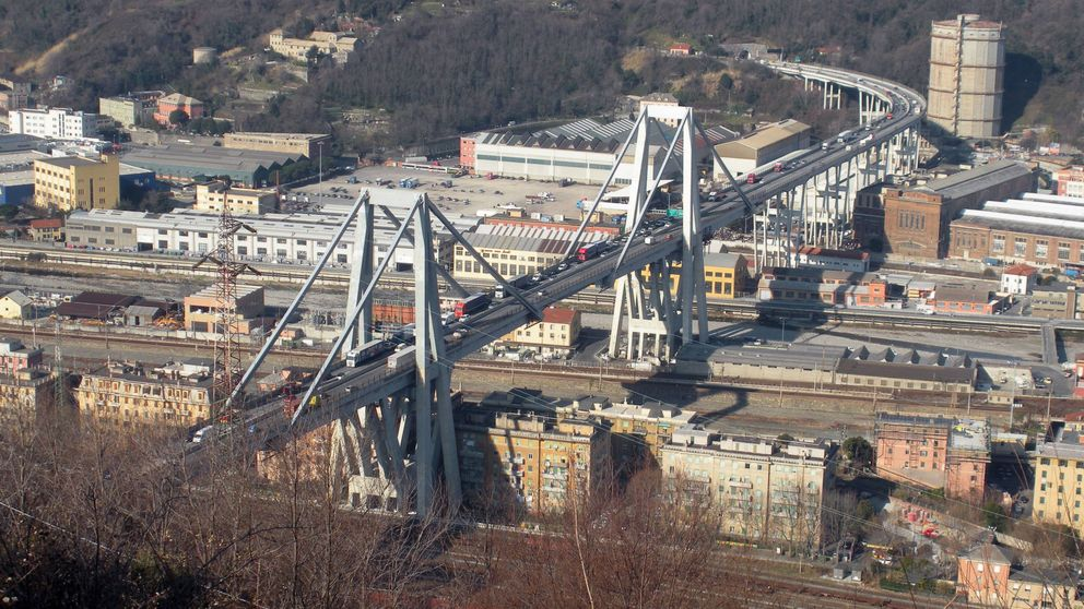El viaducto Morandi, puente enfermo: en 2016 ya alertaron de sus problemas