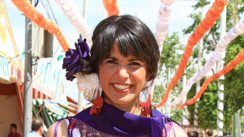 Twitter se mofa del look gitano de Teresa Rodríguez en la Feria de Abril