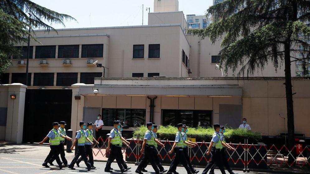 Foto: Consulado de EEUU en Chengdu (Reuters)