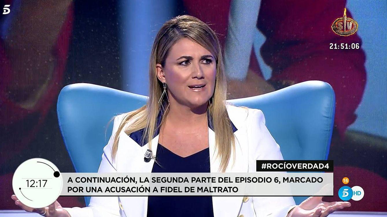 Carlota Corredera corta a Samanta Villar por Rocío: Me duele y provoca desazón
