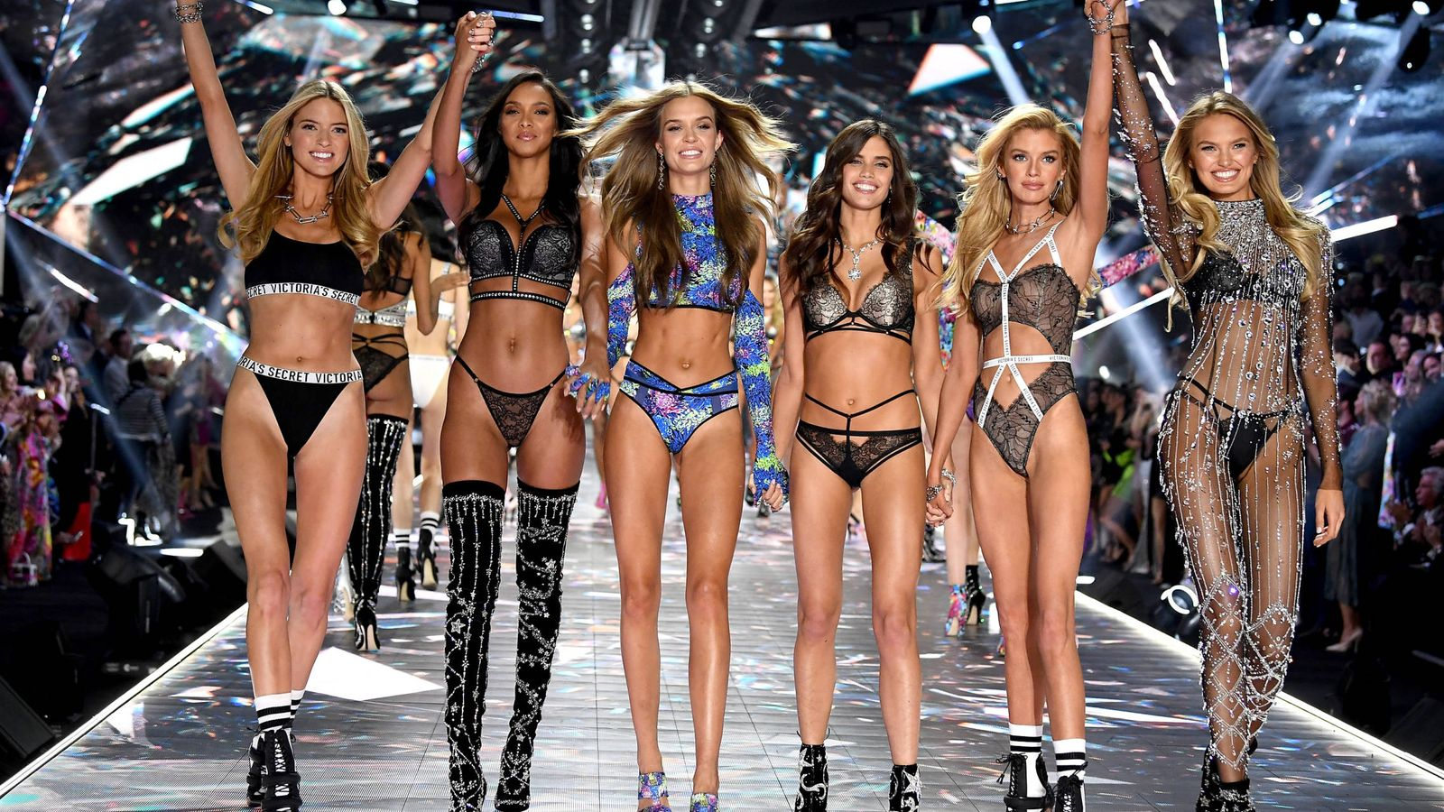 Foto: Victoria's Secret Fashion en 2018. (Getty)
