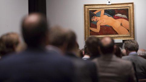 Los multimillonarios sostienen un mercado del arte a la baja